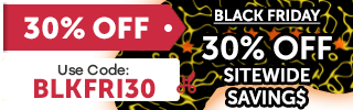 Get 30% off with coupon BLKFRI30
