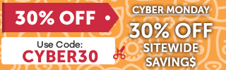 Get 30% off with coupon CYBER30