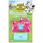 Bags On Board Bone Dispenser 30Bag Marble
