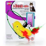A-Door-Able Plush Bird W/Feathers Action Toy