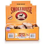 Smokehouse Prime Slice Dog Treats 10-12 Shelf Display Box 20Ct