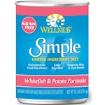 Wellness Simple Salmon & Potato Formula Canned Dog Food