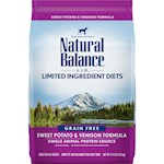 Natural Balance L.I.D. Limited Ingredient Diets- Sweet Potato and Venison Dry Dog Food