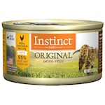 Nature's Variety Instinct Grain Free Chicken Canned Cat Food