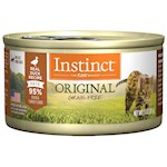 Nature's Variety Instinct Grain Free Duck Canned Cat Food