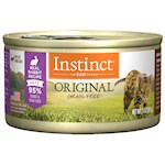 Nature's Variety Instinct Grain Free Rabbit Canned Cat Food