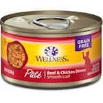 Wellness Canned Cat Food Beef and Chicken Recipe