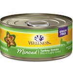 Wellness Minced Turkey Entree Canned Cat Food