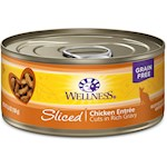 Wellness Sliced Chicken Entree Canned Cat Food