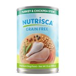 DOGSWELL NUTRISCA Turkey & Chickpea Stew Wet Food