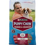 Purina Puppy Chow Healthy Morsels with Soft & Crunchy Bites Complete & Balanced for Growing Puppies