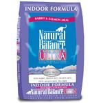 Natural Balance Indoor Ultra Rabbit & Salmon Dry Cat Recipe