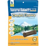 Natural Balance LIT with Duck Meal Dental Chews