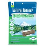 Natural Balance Vegetarian Clean Grooves Dental Chews
