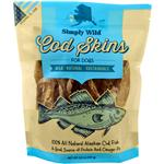Simply Wild Cod Skins Treats for Dogs 6.6oz