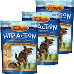 3 Packs Zuke's Hip Action with Glucosamine and Chondroitin