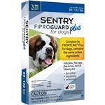 3-PACK SENTRY FiproGuard Plus Flea & Tick Spot-On for Dogs