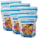 6-PACK Ora-Clens Oral Hygiene Chews Large
