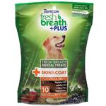 Fresh Breath Plus Dental Treats Skin & Coat