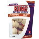 KONG Double Chews Bacon Rawhide
