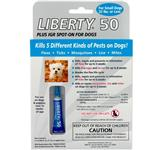 Liberty 50 Plus IGR Spot-On for Small Dogs