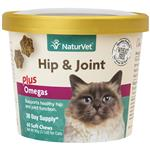 NaturVet Hip & Joint Plus Omegas for Cats