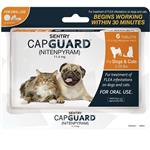 SENTRY CapGuard Flea Tablets for Dogs & Cats 2-25 lbs