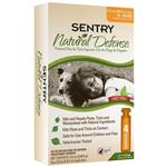Sentry Natural Defense Flea & Tick Squeeze-On for Dogs 15-40 lbs