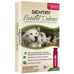 Sentry Natural Defense Flea & Tick Squeeze-On for Dogs over 40 lbs