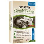 Sentry Natural Defense Flea & Tick Squeeze-On for Dogs under 15 lbs
