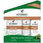 Vet's Best Flea + Tick Total Protection Kit