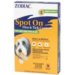 Zodiac Spot On Flea & Tick Control for Large Dogs over 60 lbs