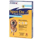 Zodiac Spot On Flea & Tick Control for Medium Dogs 31-60 lbs