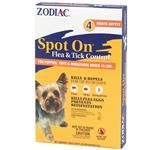 Zodiac Spot On Flea & Tick Control for Puppies under 15 lbs