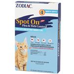 Zodiac Spot On Plus Flea & Tick Control For Cats/Kittens under 5 lbs