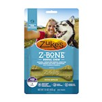 Zukes Z-Bones Edible Dental Chews Mini Clean Apple Crisp