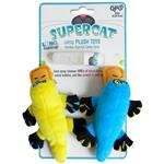 SuperCat Plush Platties with Catnip Spray
