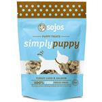 Sojos SimplyPuppy Grain Free Freeze Dried Turkey Liver and Salmon Dog Treats