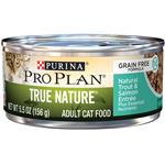 Purina Pro Plan True Nature Grain Free Adult Trout & Salmon Entree Canned Cat Food