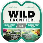 Nutro Wild Frontier Perfect Portions Grain Free Real Salmon & Trout Pate Wet Cat Food Trays
