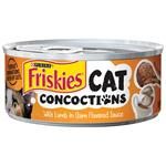 Friskies Cat Concoctions with Lamb in Clam Flavored Sauce Canned Cat Food