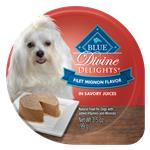 Blue Buffalo Divine Delights Small Breed Filet Mignon Pate Dog Food Cup