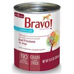 Bravo! Canine Cafe Grain Free Beef Fricassee Canned Dog Food