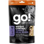 Petcurean Go! Weight Control Grain Free Freeze Dried Turkey Meal Mixer for Dogs