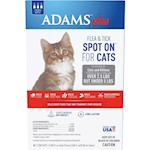 Adams Plus Spot On Flea & Tick For Cats Under 5lbs