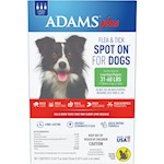 Adams Plus Spot On Flea & Tick For Large Breed Dogs