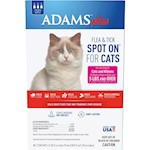 Adams Plus Spot On Flea & Tick For Cats Over 5lbs