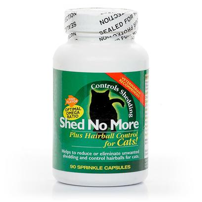 Shed No More - Plus Hairball Control for Cats