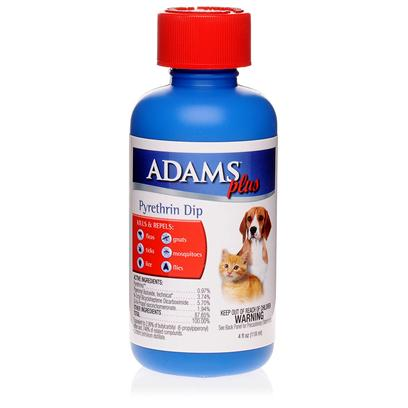 Adams Plus - Pyrethine Dip Adams Plus Pyrethine Dip, 4 fl. oz.