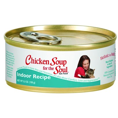 Chicken Soup for Cat Lovers Hairball Formula 5.5oz cans - case of 24